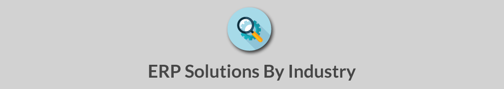 Magnifying glass - ERP Soltions by Industry